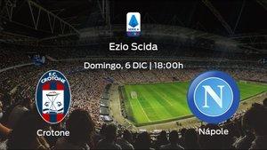Previa del partido: Crotone - Nápoles