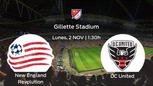 Previa del partido de la jornada 23: New England Revolution contra DC United