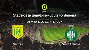 Previa del partido: el AS Saint Etienne defiende su liderato ante el FC Nantes