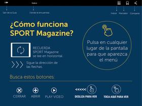 El primer número de SPORT Magazine ve la luz este mes de noviembre
