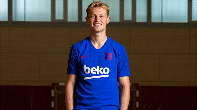 La primera impresión de De Jong sobre Valverde