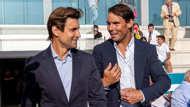 Rafa Nadal y David Ferrer gradúan a los alumnos de su academia