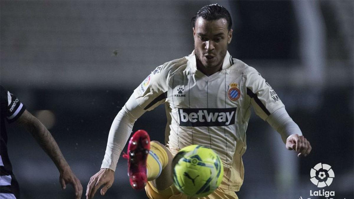 Raúl de Tomás remontó el partido ante el Cartagena desde el punto de penalti