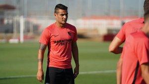 Rony Lopes ya se entrena con sus nuevos compañeros