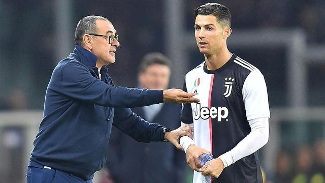 Sarri: El objetivo es que Cristiano esté contra el Atlético