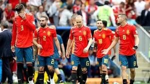 La selección española se marchó eliminada en los penlatis
