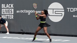 Serena, en su regreso a las pistas en Lexington