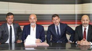 Stefano Pioli, nuevo técnico del Milán