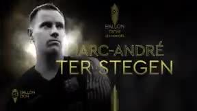 Ter Stegen, entre los nominados a ganar el Balón de Oro
