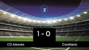 Tres puntos para el equipo local: Alesves 1-0 Corellano