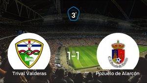 El Trival Valderas y el Pozuelo de Alarcón se reparten los puntos tras su empate a uno