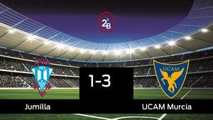 Jumilla 1-3 UCAM Murcia: El UCAM Murcia ganó en casa del Jumilla