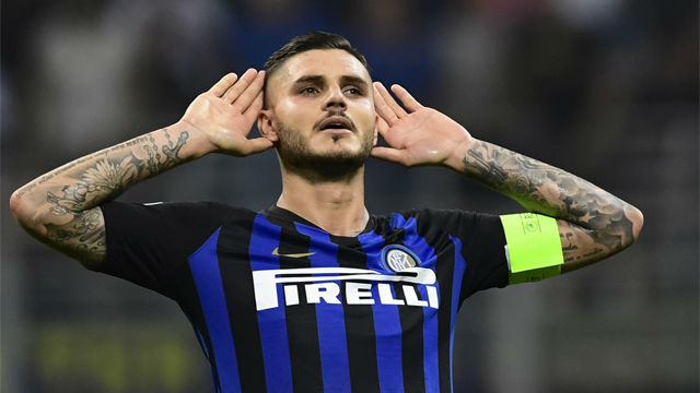 Mauro Icardi joins PSG on loan