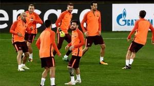 El vestuario del Barcelona no es ajeno a los acontecimientos en Catalunya