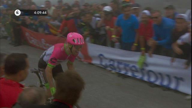 Woods se lleva la etapa; Enric Mas y Valverde aventajan a Yates