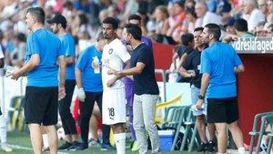 Xavi dirigió al Al-Sadd ante el Olot
