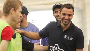 Xavi Hernández está ahora en Doha