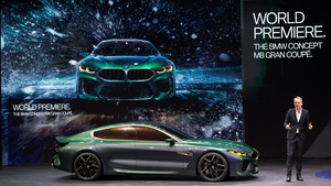 El vicepresidente de Diseño de BMW presenta el nuevo BMW M8 Gran Coupé