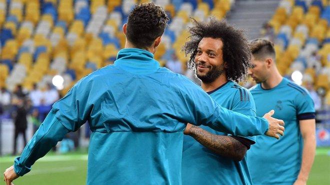 Cristiano quiere a Marcelo en la Juventus