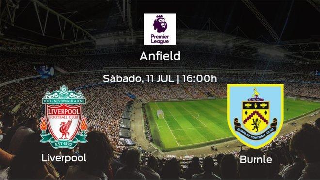 Previa del encuentro: el Liverpool defiende el liderato ante el Burnley