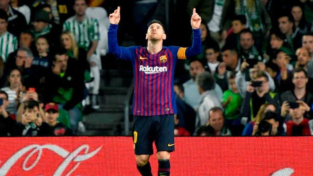 El 1x1 del Barça en la primera parte en el Benito Villamarín