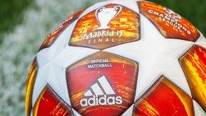 Adidas desveló el balón de la final de la Champions