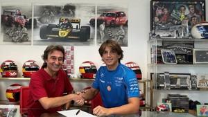 Adrián Campos y Roberto Merhi