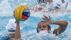 Anni Espar, clave en el triunfo ante Hungría