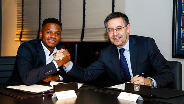 Ansu Fati, tras renovar con el Barça: ¡El sueño continúa!