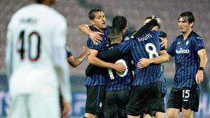 El Atalanta lidera el grupo tras su 0-4 ante el Midtjylland
