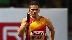 El atleta español, Bruno Hortelano, retrasa su estreno esta temporada