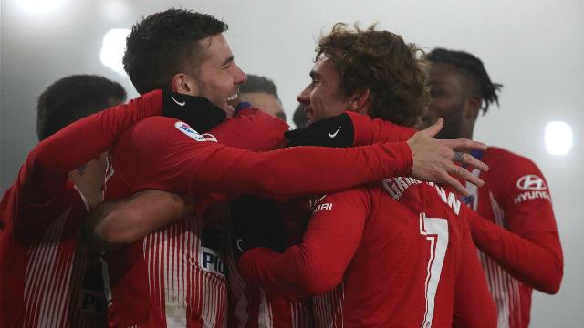 El Atlético se resarce de la Copa