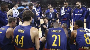 El Barça afronta una dura prueba en el Palau frente al vigente campeón de Europa