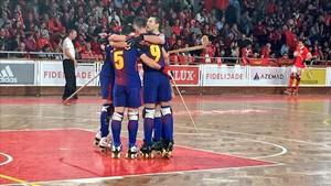 El Barça se dio un festín en Lisboa