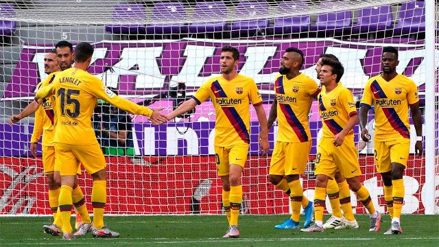 El Barça pospone el alirón del Madrid