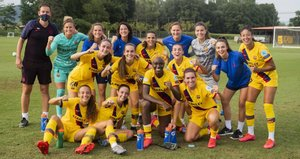 El FC Barcelona femenino ha puesto punto y final al stage en la Vall den Bas