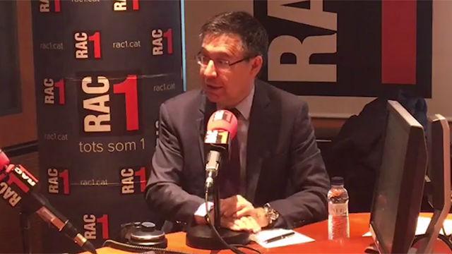 Bartomeu: Con el VAR el Barça tendría ahora otra Liga