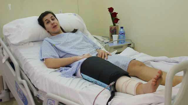 Carolina Marín, operada con éxito de una rotura de ligamento cruzado