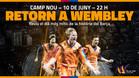 El cartel de promoción de la fiesta del Barça dedicada al 25 aniversario de la final de la Copa de Europa en Wembley 1992