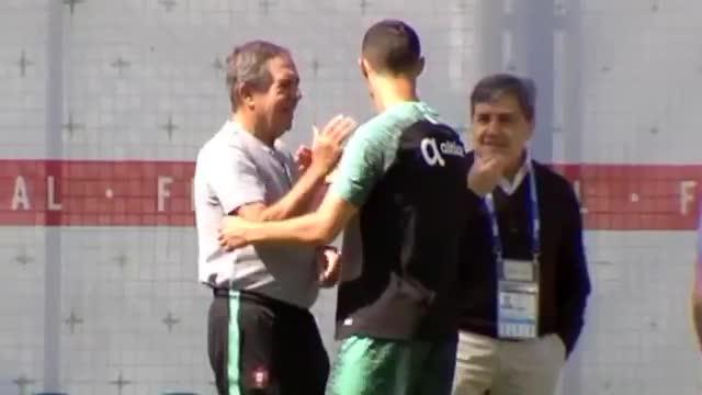 Cristiano Ronaldo, con la vista puesta en Irán