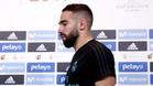 Dani Carvajal, defensa del Real Madrid