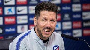 Diego Costa, entrenador del Atlético de Madrid