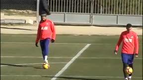 Diego Costa vuelve a entrenar con el grupo