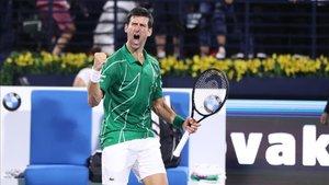 Djokovic durante uno de los últimos torneos disputados