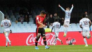 Entre Celta y Mallorca hay ocho puntos que marcan permanencia y descenso