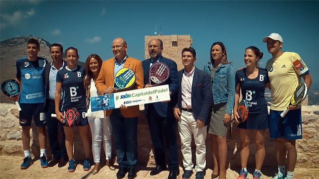 Espectacular presentación del Caja Rural Jaén Open