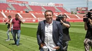 Eusebio Sacristán, nuevo entrenador del Girona FC,