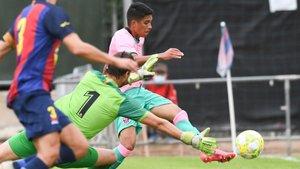 El filial goleó con una gran actuación individual de Gustavo Maia