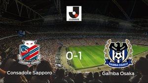 El Gamba Osaka vence 0-1 en el feudo del Consadole Sapporo