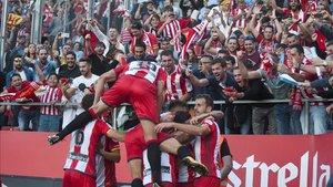 El Girona contará con el apoyo de los suyos en Segunda